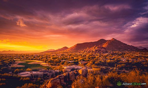 CBD Oil Arizona: Arizona state.