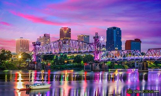 CBD Oil Arkansas: Arkansas state.