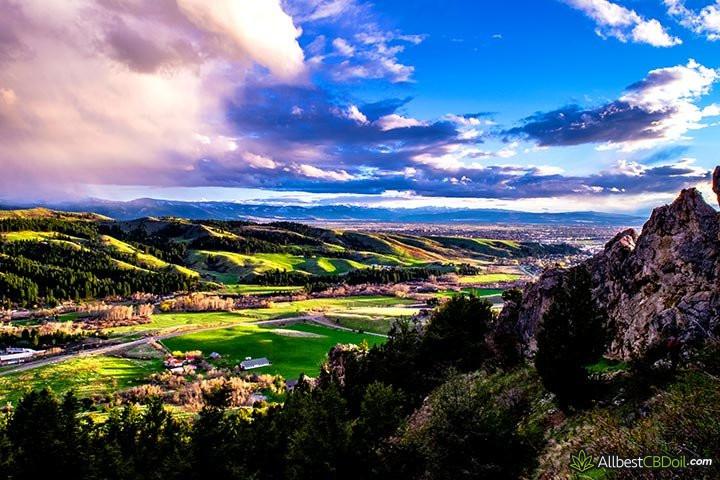 CBD Oil Montana: Montana state.