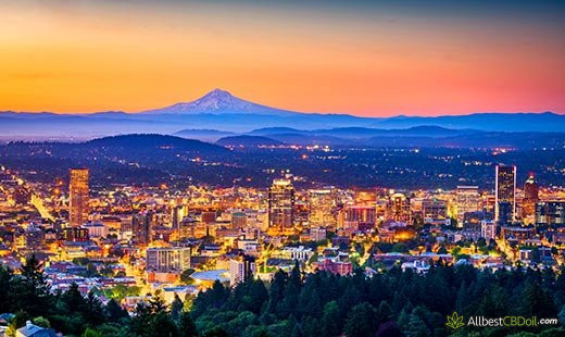 CBD Oil Oregon: Oregon state.