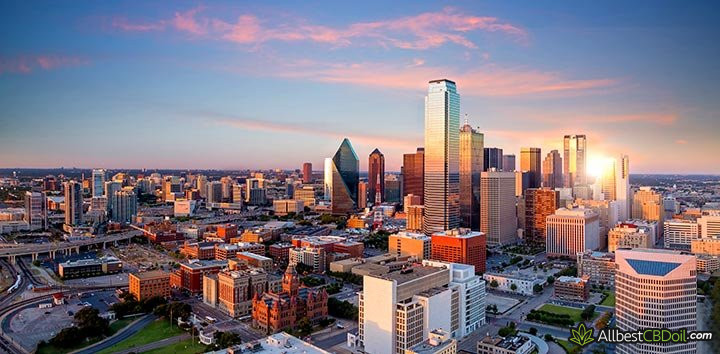 CBD oil Texas: Dallas.
