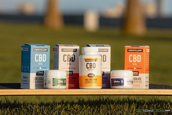 CBDistillery Giveaway Products