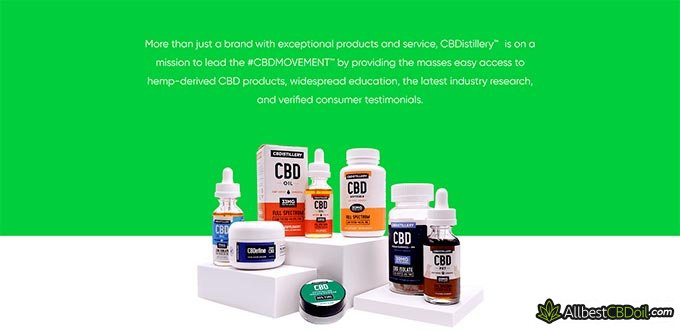 CBDistillery reviews: about the company.
