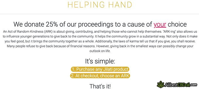 Jilati review: helping hand.