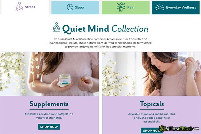 Plant Therapy reviews: Quiet Mind Collection.
