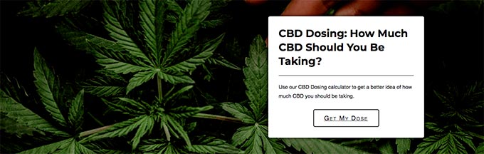 Pure Science Lab reviews: CBD dosing.
