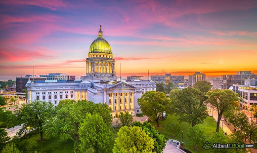 CBD Oil Wisconsin: Wisconsin state.